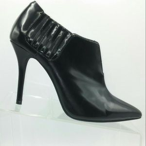 Jeffrey Campbell Black  Ankle Booties 9